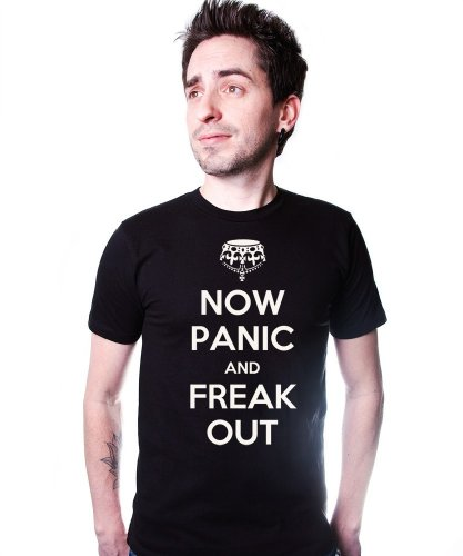 Panic and Freak Out T-Shirt Funny Cotton Tee