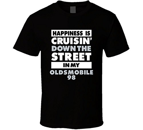 is Cruisin Down the Street In My Oldsmobile 98 Car T Shirt