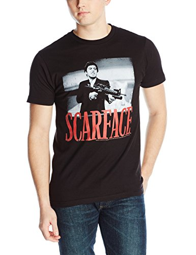 Classics Scarface Black and White Photo Shootin T-Shirt
