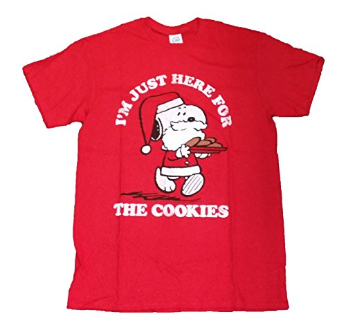 Snoopy I'm Just Here the Cookies Graphic T-Shirt