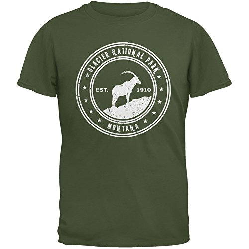 National Park Military Green T-Shirt