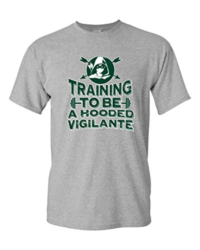 To Be A Hooded Vigilante Arrow DT T-Shirt Tee