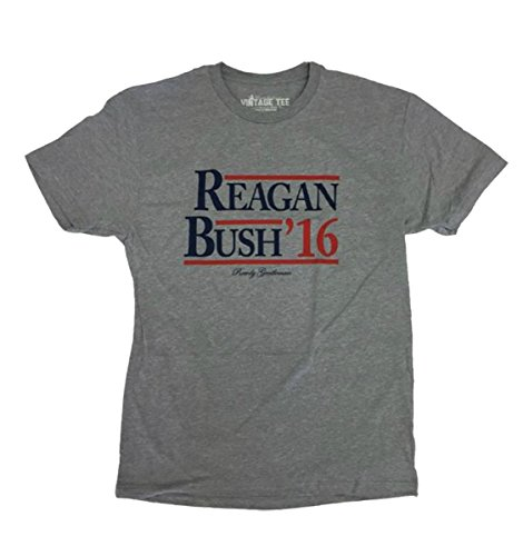 Gentleman Reagan Bush '16 Heather Gray Short Sleeve T-shirt