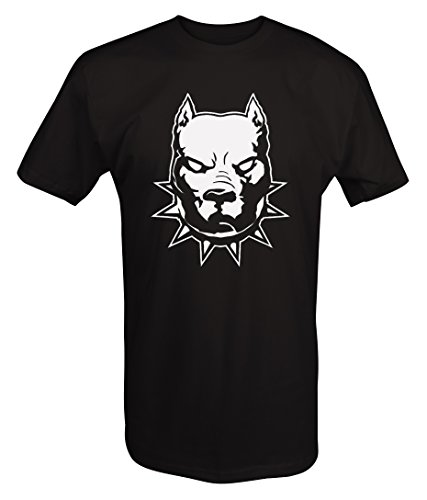 with Spiked Collar Dog T Shirt