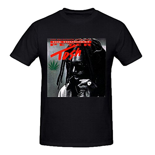 Custom Peter Tosh the toughest peter Tshirts Cotton O neck