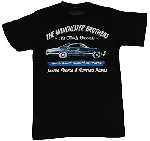 T-Shirt The Winchester Brothers Family Business Car Image