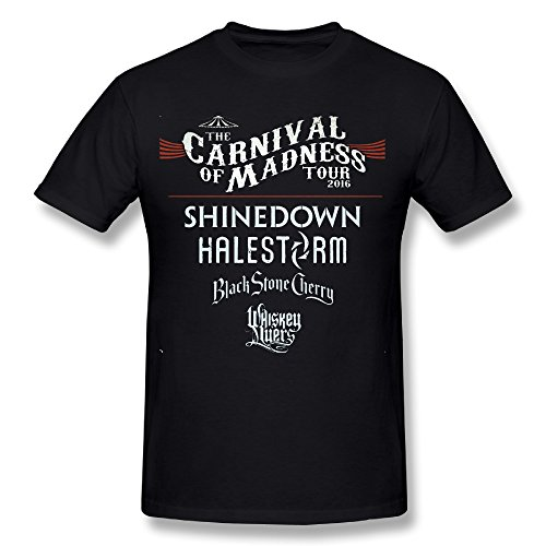 Shinedown Carnival Of Madness 2016 T-shirts Black