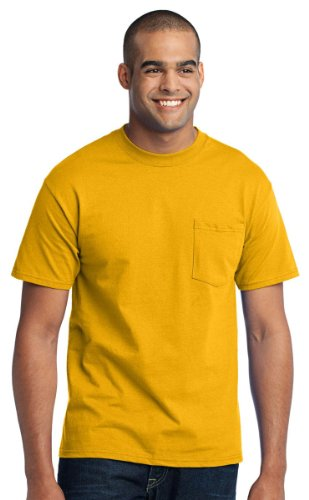 Company Big And Tall Soft Pocket T-Shirt_Gold_XX-Large Tall