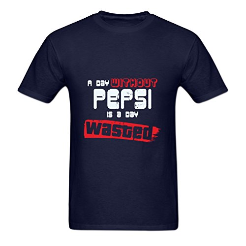 Ball a Day Without Pepsi is a Day Wasted Print Tee Shirt Black