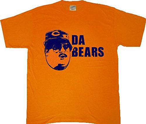 Chicago Da Bears Orange T-Shirt Tee
