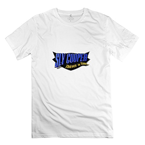 Cooper Thieves In Time Logo Retro Short Sleeve T Shirtss