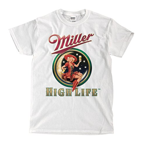 High Life beer White T-Shirt