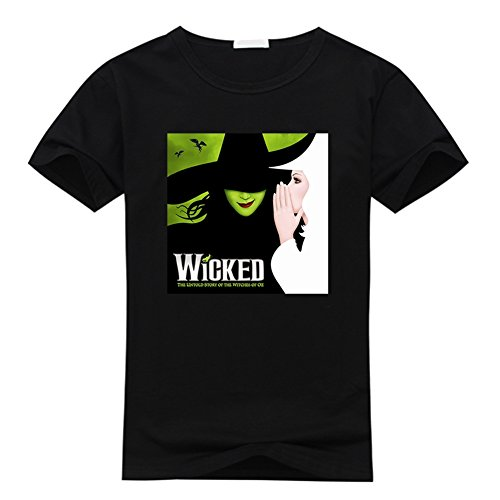 Wicked The Musical Broadway and T-Shirt Black