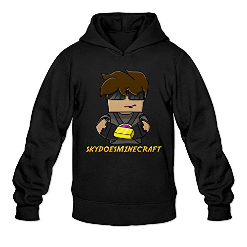 SkyDoesMinecraft Youtuber Gamer Printed Sweatshirt Pullover Hoodie