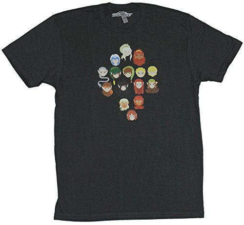 T-Shirt Stylized 15 Wolfrider More Character Head Image