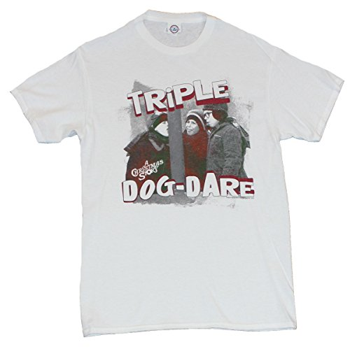 Christmas Story T-Shirt Triple Dog Dare Frozen Tongue Incident Image