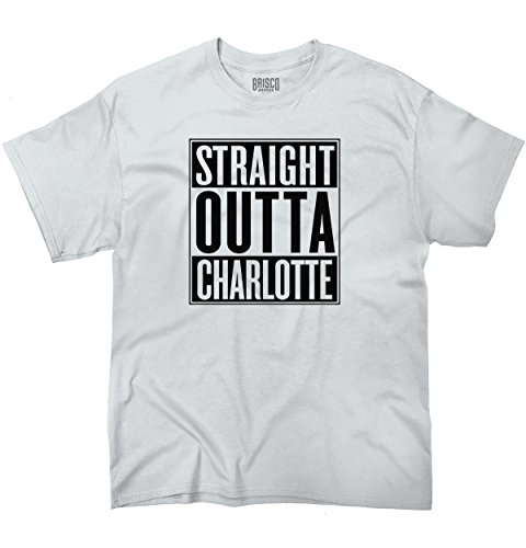 Outta Charlotte, NC City Movie T Shirts Gift Ideas T-Shirt Tee