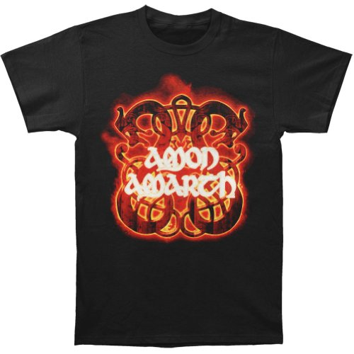 Amarth Fire Horses T-shirt Black