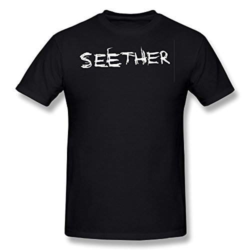 Seether Band Logo T-shirt Black