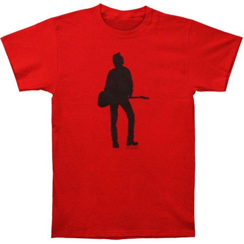 Strummer Silhouette Red Slim Fit T-shirt Red