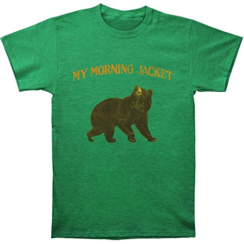 Morning Jacket Grizzly Bear Slim Fit T-Shirt Heathered Green