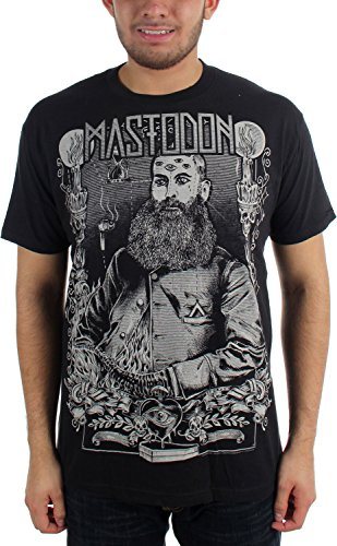 Beard Slim Fit T-shirt in Black