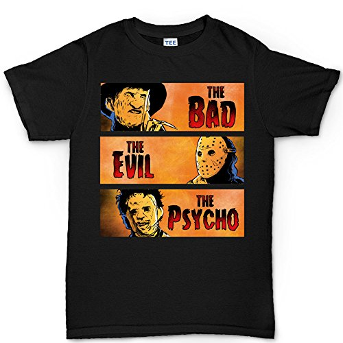 Halloween Bad Evil Psycho Party Costume T shirt