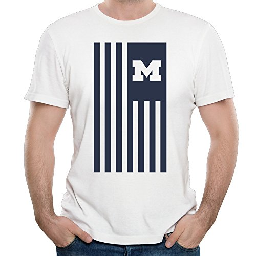 Black Navy Michigan Wolverines Cross-Dye Nation Tri-Blend Short Sleeve T-shirts Tee Seller