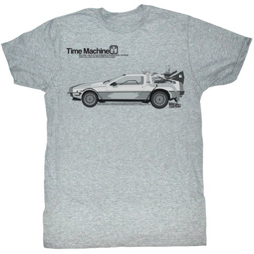 To The Future Delorean T-Shirt
