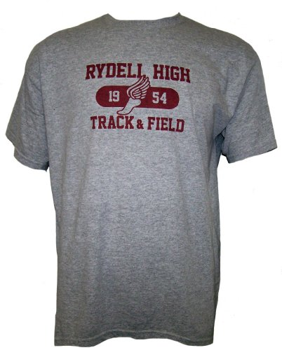 The Movie RYDELL HIGH 1954 Track Field Short Sleeve T Shirt