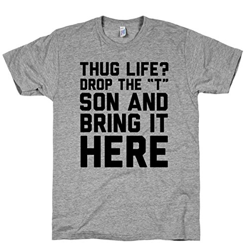 Hug Life Athletic Grey T-Shirt