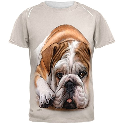 Bulldog Liveever All Over T-Shirt