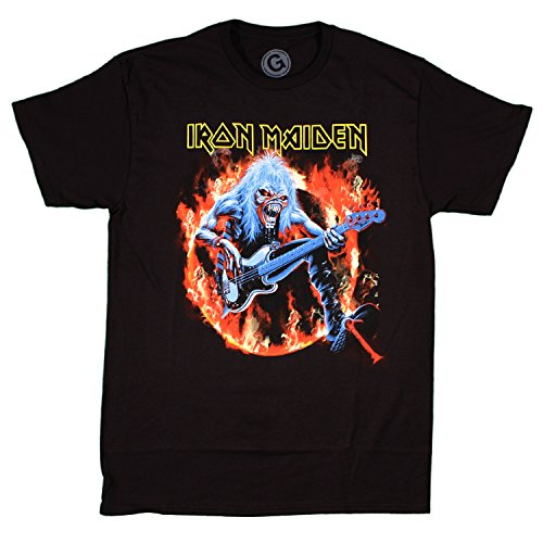 Maiden Fear of Flames t-shirt black