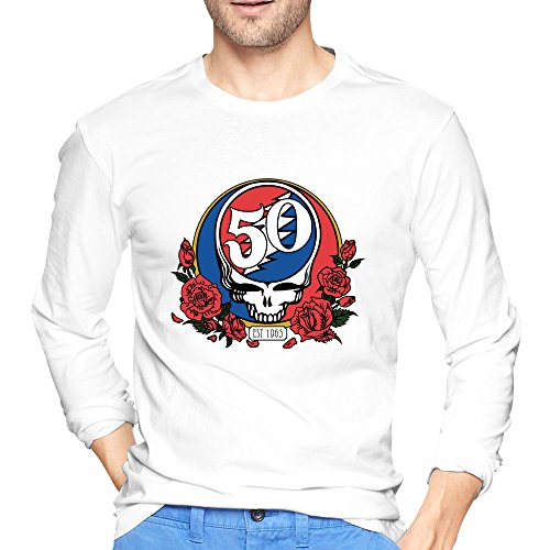 Tinge 50th Anniversary Of Grateful Dead Long Sleeves T-shirt