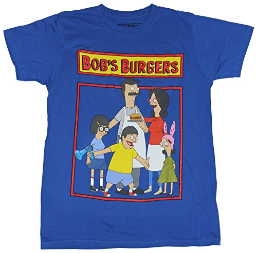 Burgers T-Shirt Gene Introducing The Family in Box Image