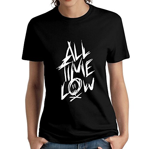 Name Logo All Time Low Unique Short-Sleeved Tshirts