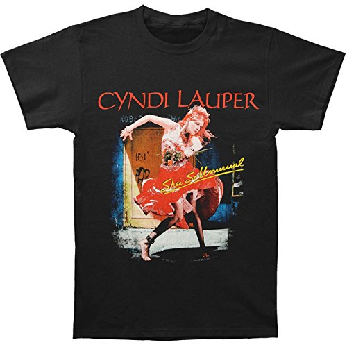 Cyndi Lauper39;s 2013 She39;s So Unusual Tour Dated T-shirt Black