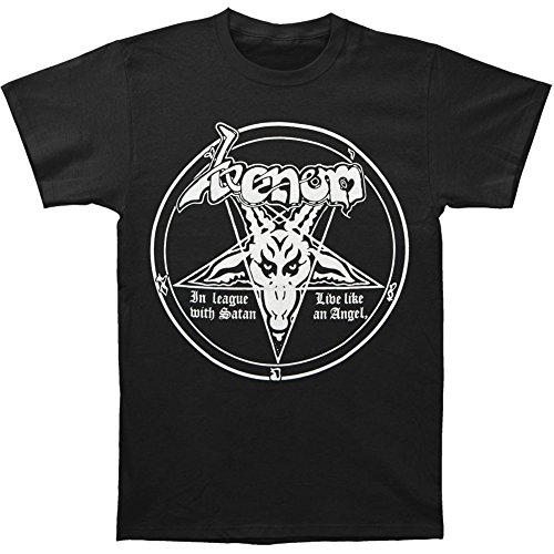 In League With Satan T-shirt Black