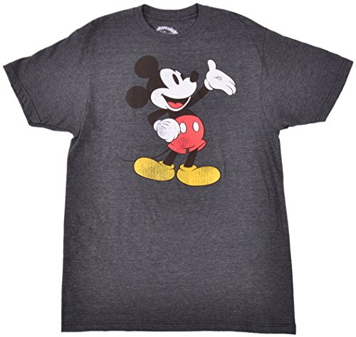 Classic Mickey Mouse Distressed T-Shirt