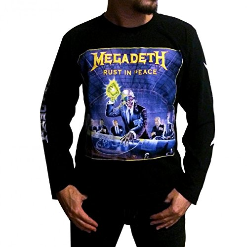 And Roll Megadeth T Shirt Long Sleeve