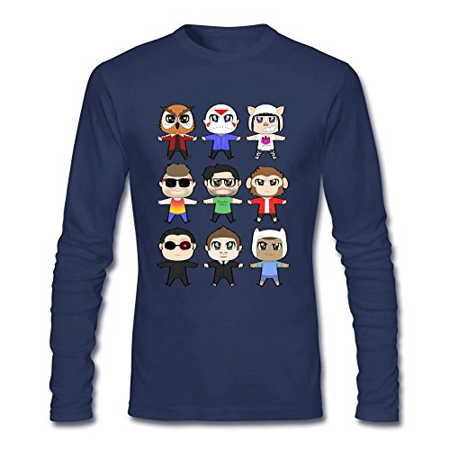 VanossGaming Youtuber Design Long Sleeve Cotton T Shirt