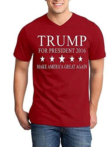 Trump President V-Neck T-shirt Make America Great Again Shirts