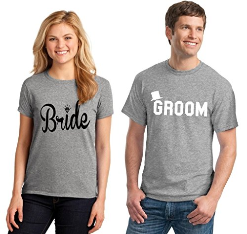 Bride Groom Couple T-shirt