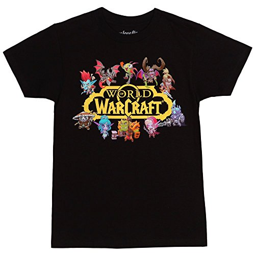 of Warcraft Characters Logo T-Shirt