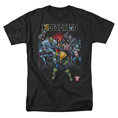 Dredd Behind You T-shirt Black