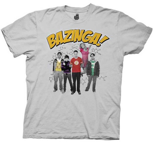 Big Bang ory Bazinga Group Officially Licensed Authentic T-shirt