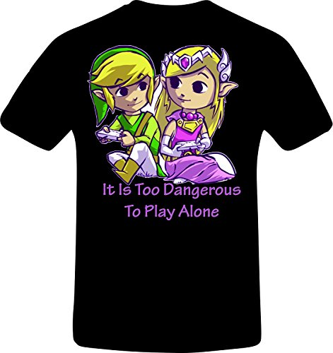 is too dangerous to play alone, Zelda Best Quality Costum Tshirt