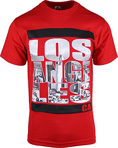 Angeles City View T Shirts Cali Love Hip Hop Rap Urban Streetwear