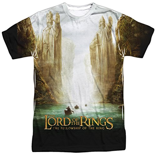 Lord of the Rings Fellowship Poster Sublimation Shirt