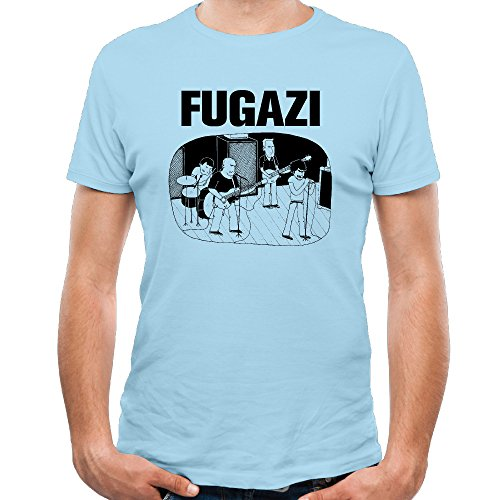 Hardcore Band Fugazi Repeater Cotton T-shirts Tee